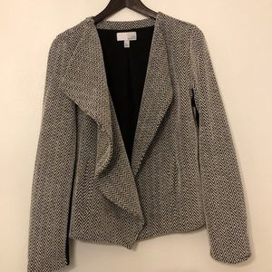 Nordstrom 14th and Union | Open Front Drape Blazer